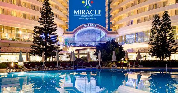 Нова година 2020 в Анталия - MIRACLE RESORT 5* с автобус 4 нощувки с тръгване от София, Пловдив, Варна и Бургас